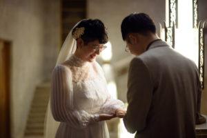 洋館(東京国立博物館)×ヴィンテージドレス撮影「フォトウエディング」東京 写真だけの結婚式