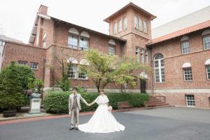 チャペル(スコットホール)撮影「フォトウエディング」東京 写真だけの結婚式