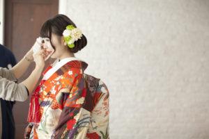 「和装スタジオ撮影」東京フォトウエディング