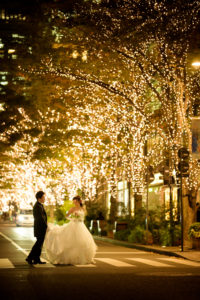 ロケーション(東京駅&丸の内)撮影「フォトウエディング」東京 写真だけの結婚式