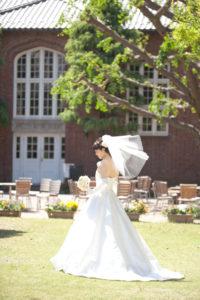 ロケーション(立教大学)母校撮影「フォトウエディング」東京 写真だけの結婚式