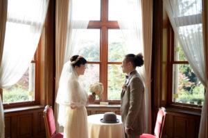 洋館(旧古河邸)ヴィンテージドレス撮影「フォトウエディング」東京 写真だけの結婚式